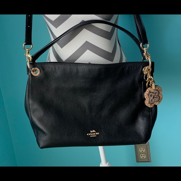 Coach Handbags - Coach Clarkson Medium Hobo & Bag Charm